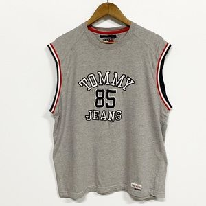 Tommy Jeans Vintage Spellout Embroidered Tank Top